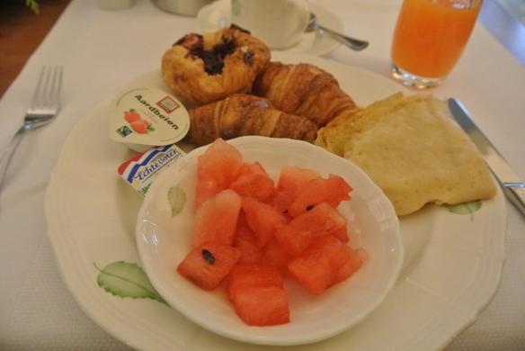 Lekker ontbijt in hotel!