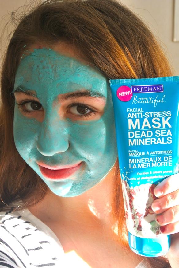 Stiekem, ben ik gewoon een blauwe smurf...